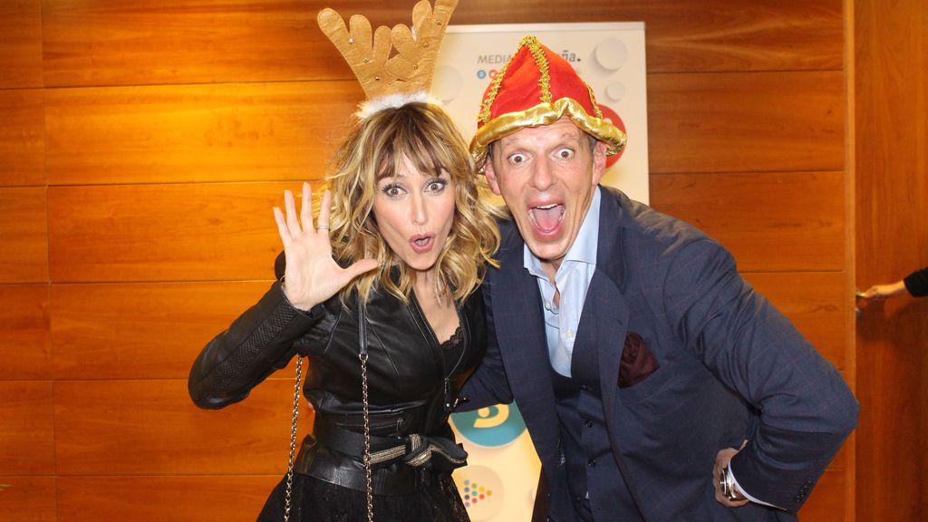Las mejores imágenes de la cena de Navidad de los famosos de Mediaset