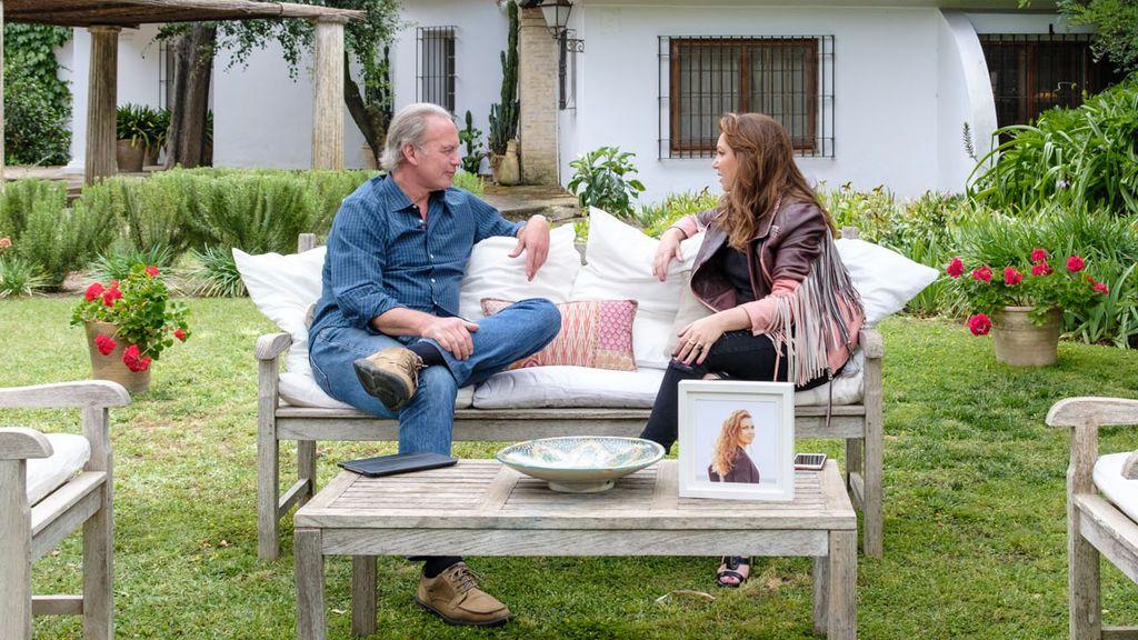 Bertín Osborne entrevista a Niña Pastori en 'Mi casa es la tuya'.