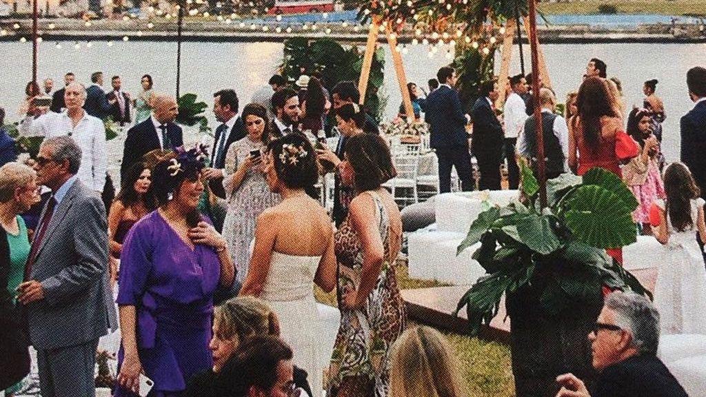 Nos colamos en la boda de Elena Tablada y Javier Ungría