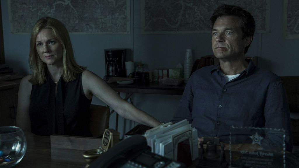 Laura Linney y Jason Bateman, en 'Orzak'.