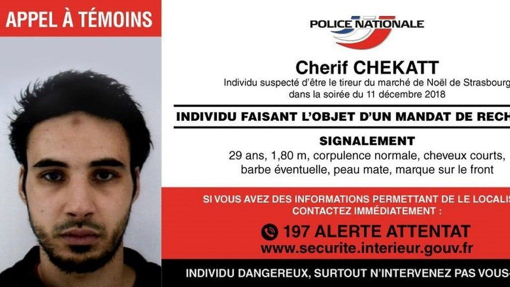 """El Estado Islámico afirma que el responsable del ataque en Estrasburgo era un """"soldado"""" del grupo"""
