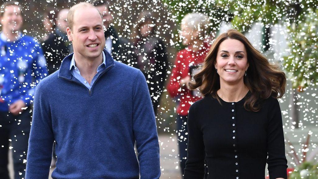 El 'christmas' de los duques de Cambridge con el que les comparan con Felipe y Letizia