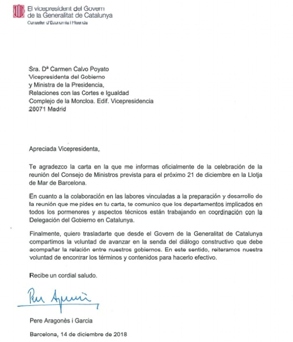Carta del Govern