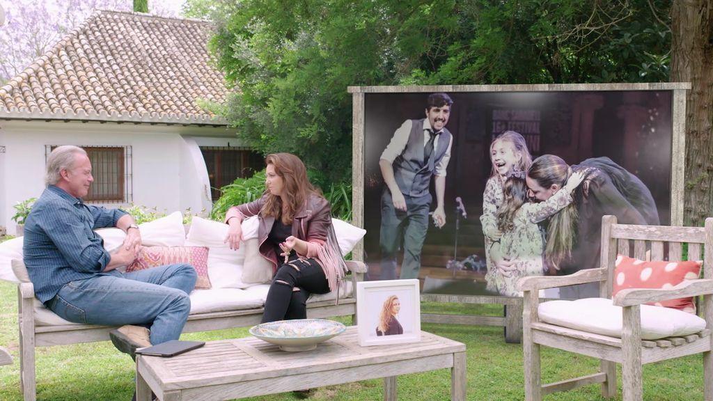 """La hija de Niña Pastori compone con diez años: """"En mi disco hay dos canciones suyas"""""""