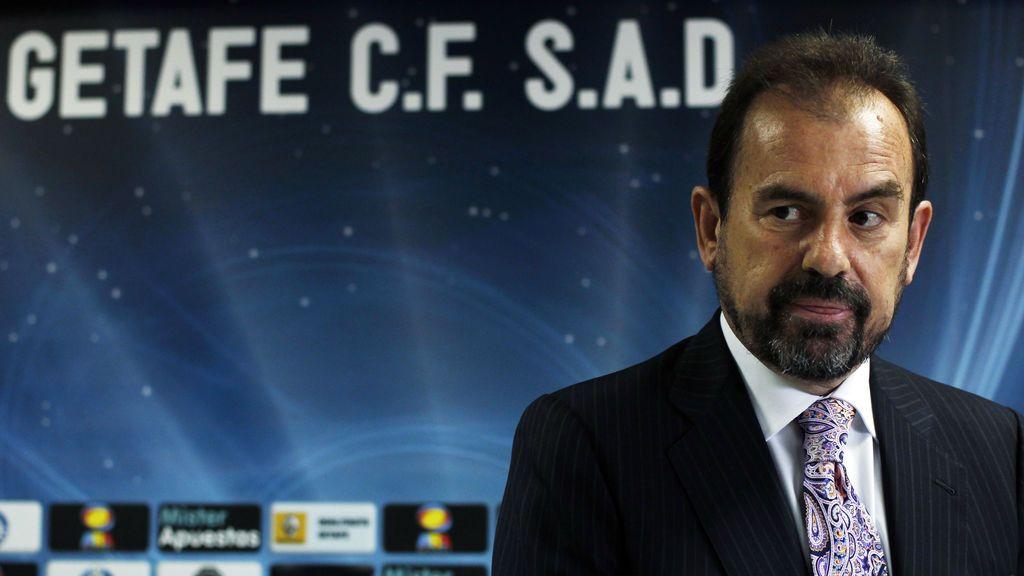 """Ángel Torres, presidente del Getafe, ve una 'mano negra': """"Me consta que quieren que bajen a Segunda dos equipos de Madrid"""""""