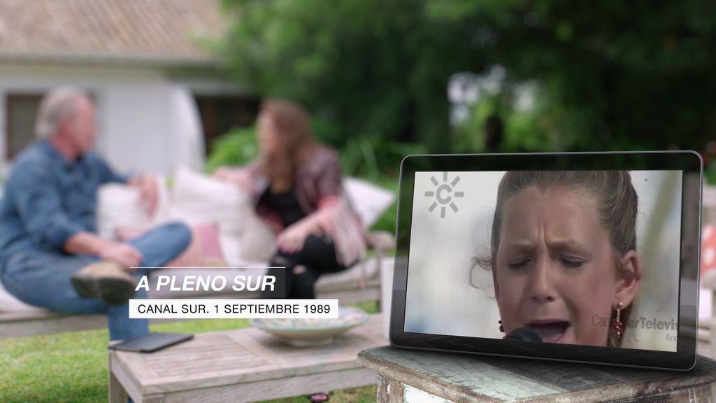 El vídeo de Niña Pastori de niña y arrasando en los concursos a los que se presentaba