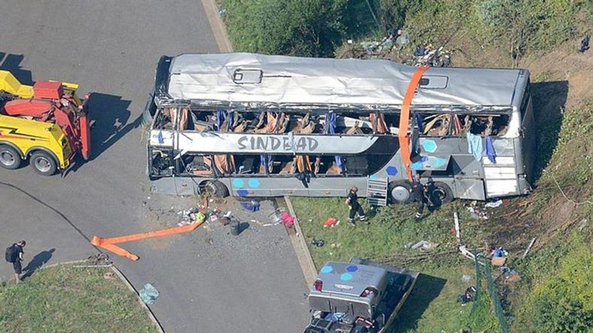 Mueren cinco personas en un accidente de autobús en Ecuador