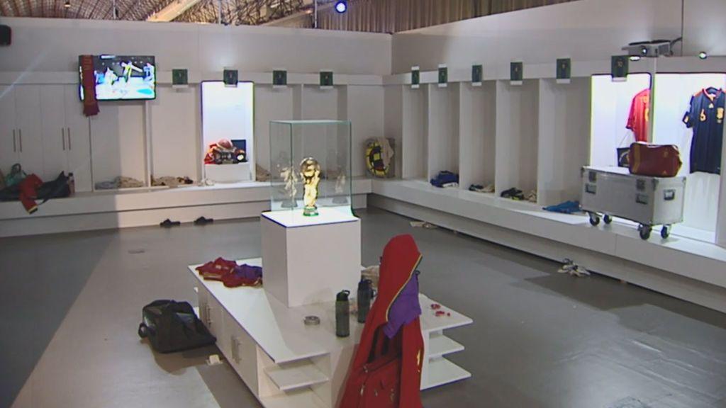 El vestuario de la Selección en Sudáfrica, revivir el gol de Iniesta... Telecinco Live lo hace posible