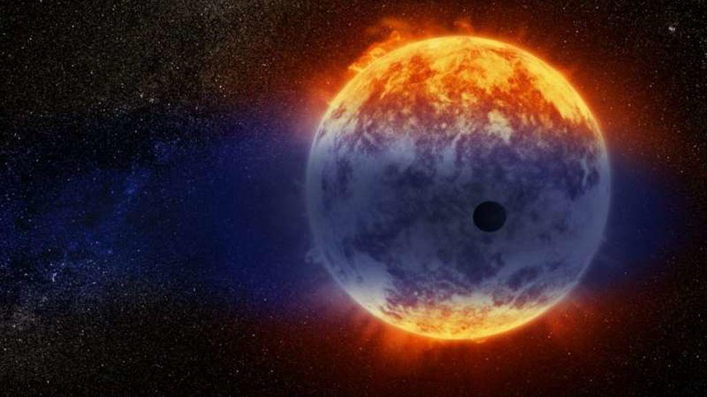 El Hubble encuentra un planeta lejano que se desvanece a una velocidad récord
