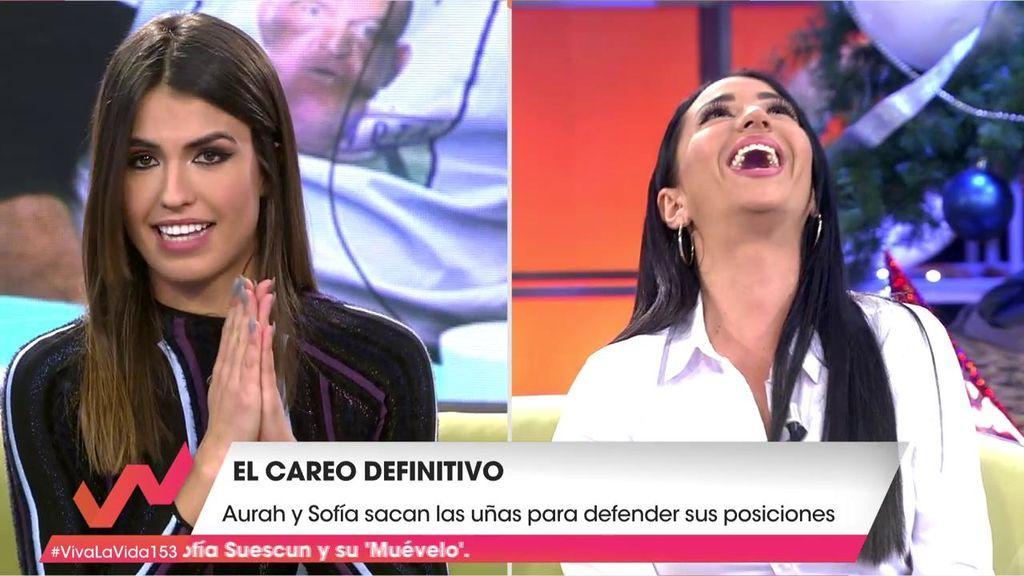 """Sofía acusa a Aurah de dejar a Suso hace meses cuando apareció """"uno más famoso que él"""""""