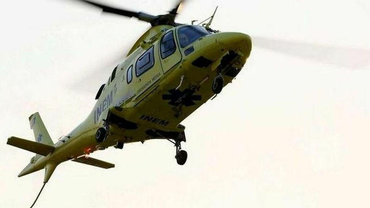 Mueren cuatro personas en una accidente de helicóptero en Portugal, entre ellos un médico español