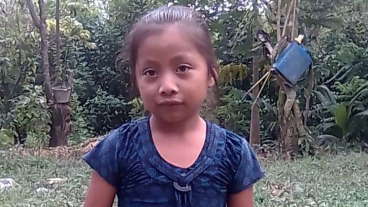 """""""Gozaba de buena salud"""", asegura el padre de la niña que murió en la frontera con EEUU"""