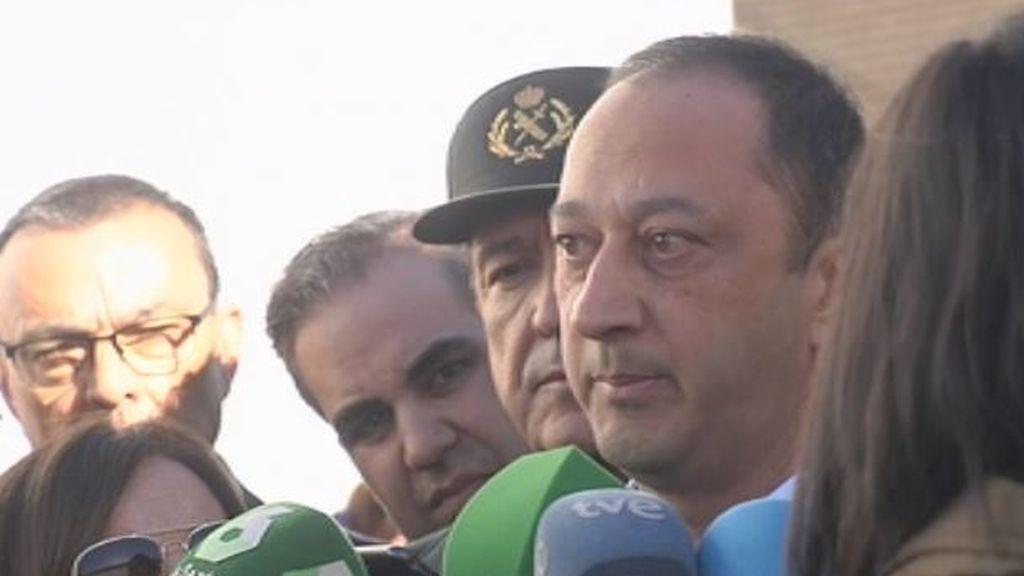 El delegado del Gobierno confirma el hallazgo de un cadáver en la zona de búsqueda de Laura Luelmo