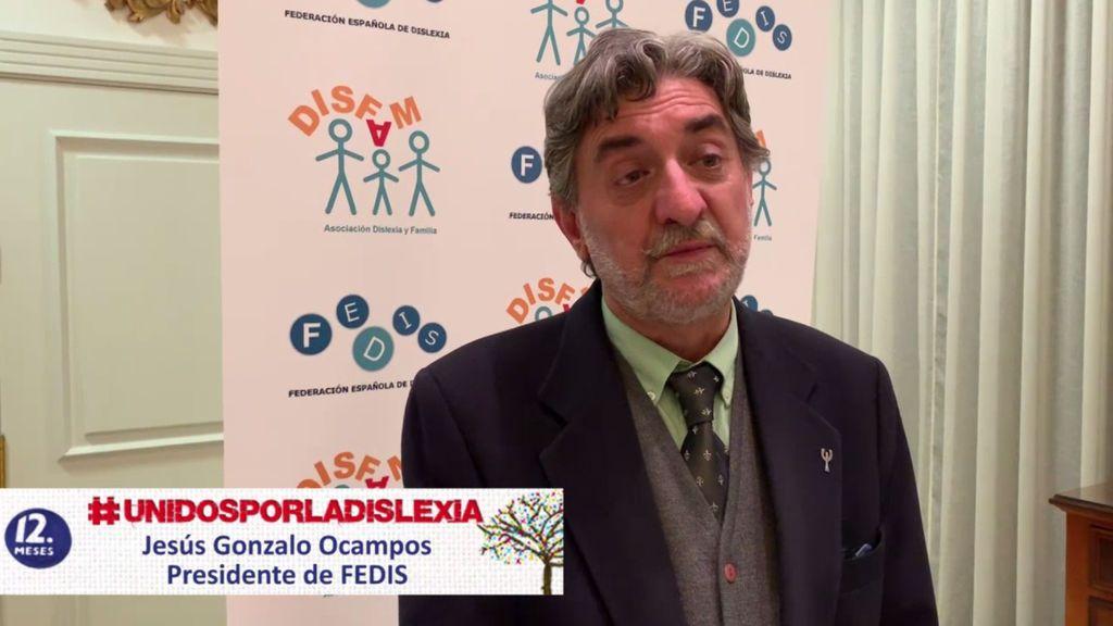 """Jesús Gonzalo, presidente de FEDIS: """"La dislexia es el trastorno invisible"""""""