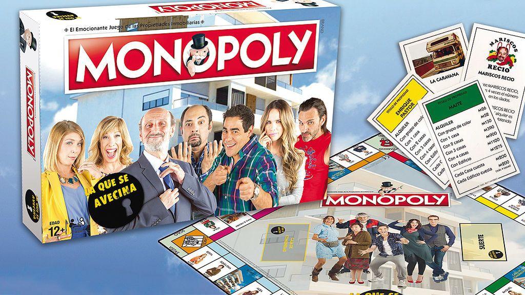 Juega con 'La que se avecina' y consigue un Monopoly de la serie: conviértete en el dueño de Montepinar