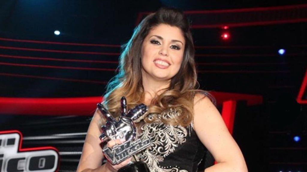 La española Cristina Ramos, ganadora de 'La voz México'