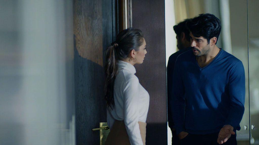 Nihan tiene un encuentro secreto con Kemal en su dormitorio