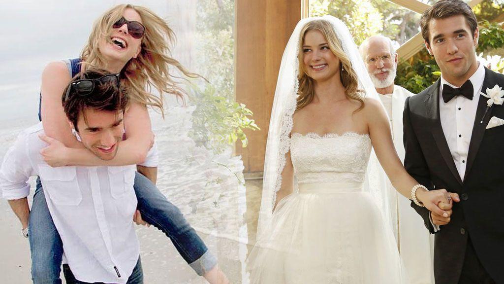 Bordados, transparencias y un guiño a sus fans: la boda 'real' de los protagonistas de 'Revenge'