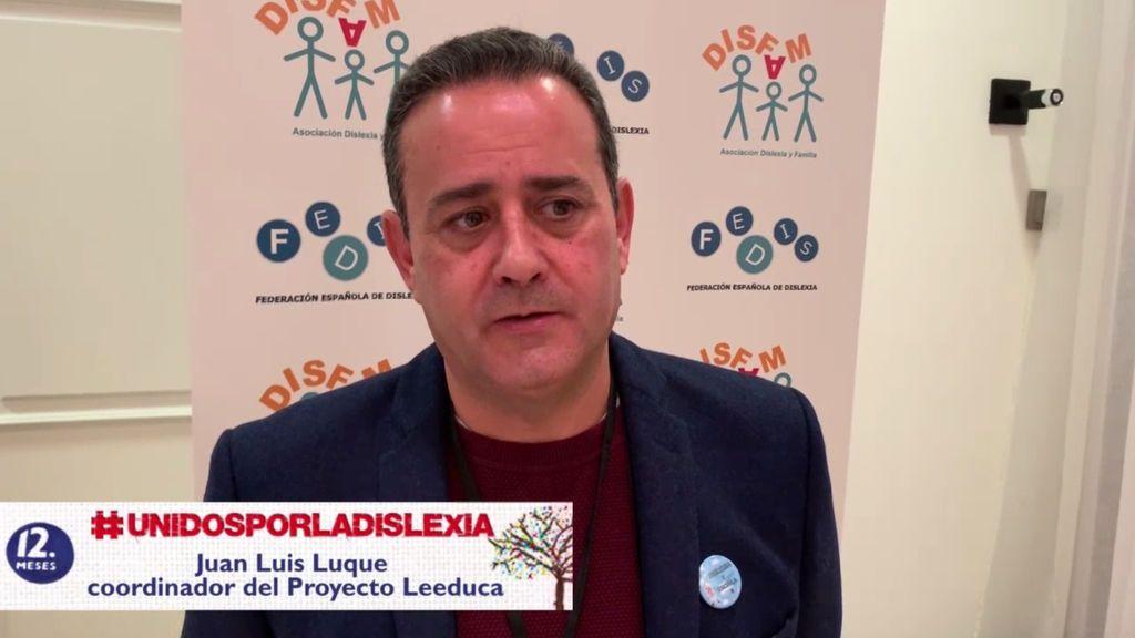 """Juan Luque, coordinador Leeduca: """"Buscamos adelantarnos al fracaso escolar"""""""
