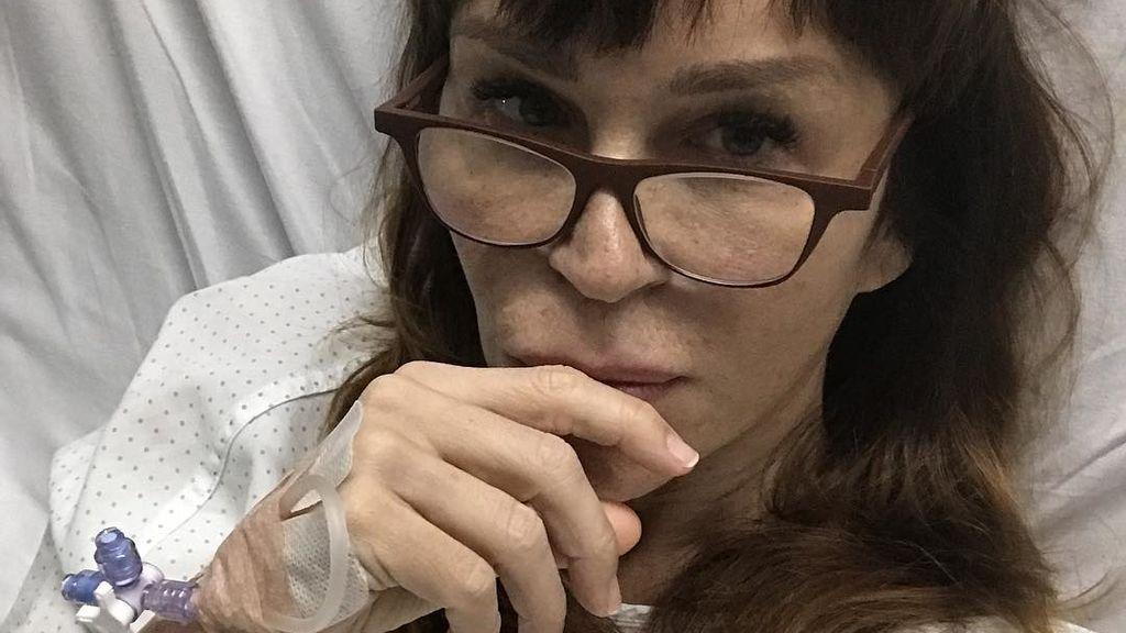 Antonia San Juan, ingresada: ella mima explica su intervención desde la cama del hospital