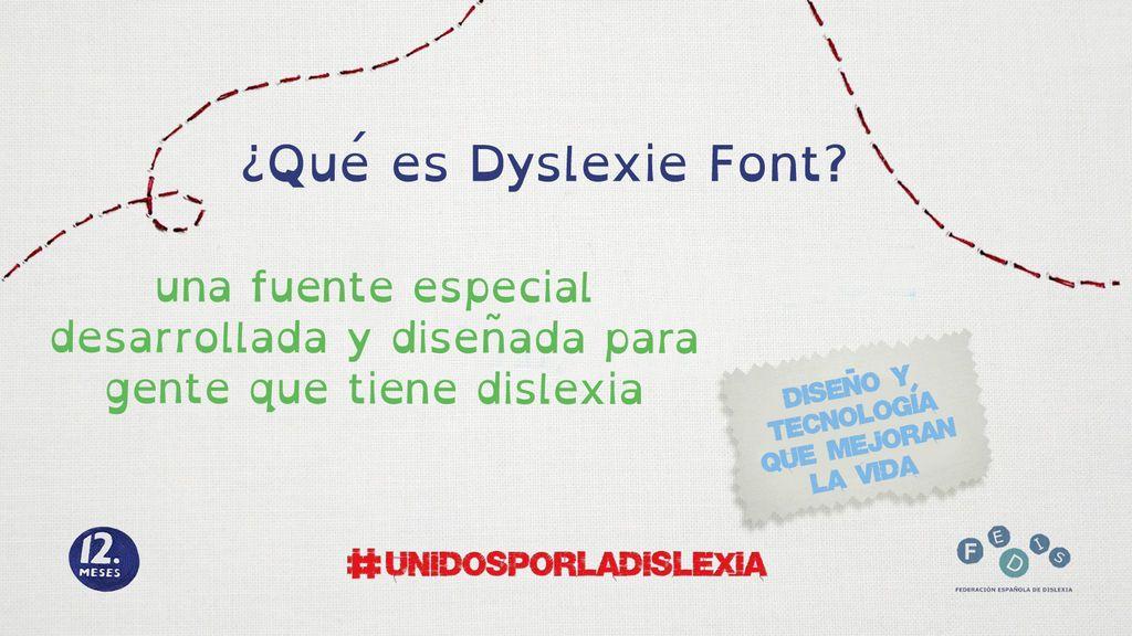 ¿Qué es Dyslexie Font?