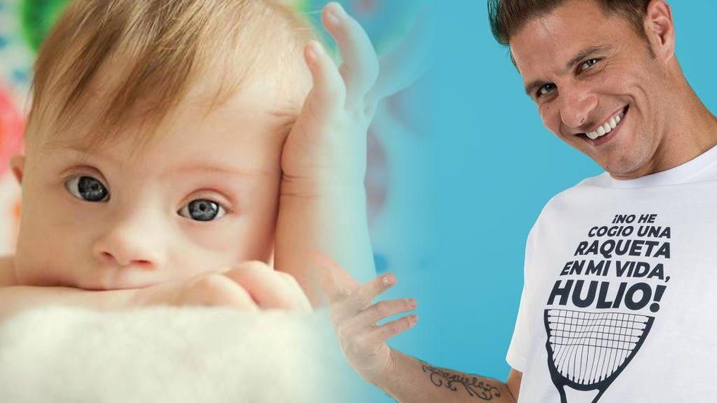 Joaquín lanza 'Hulio', una marca de ropa que apoya la inclusión de las personas con síndrome de Down
