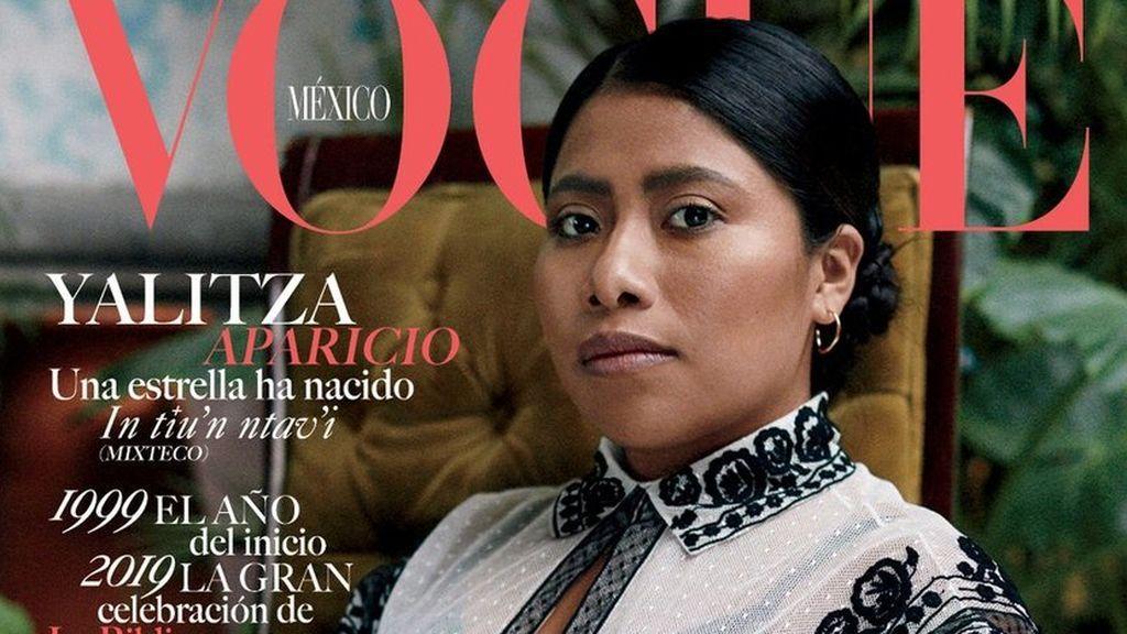 Yalitza Aparicio y la histórica portada de Vogue México
