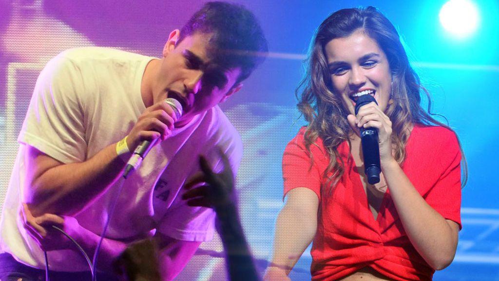Amaia y Diego Ibáñez, vocalista del grupo Carolina Durante, cazados juntos