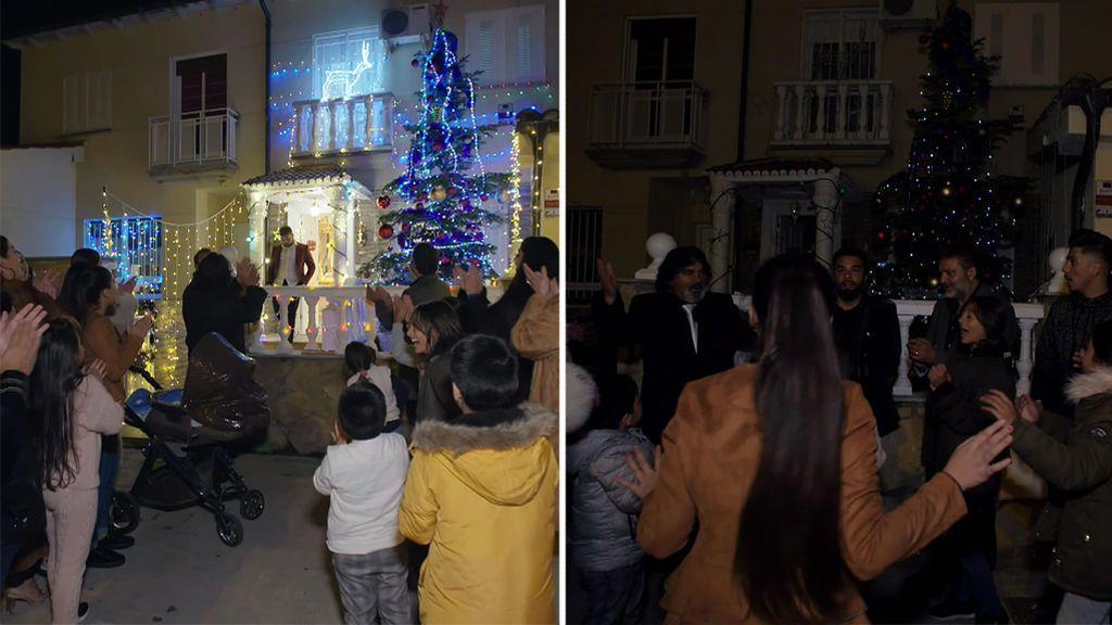 El gran apagón de los Jiménez: dejan al barrio sin luz con su iluminación navideña