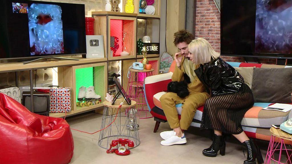 Bea y Rodri hablan con un Papá Noel muy especial