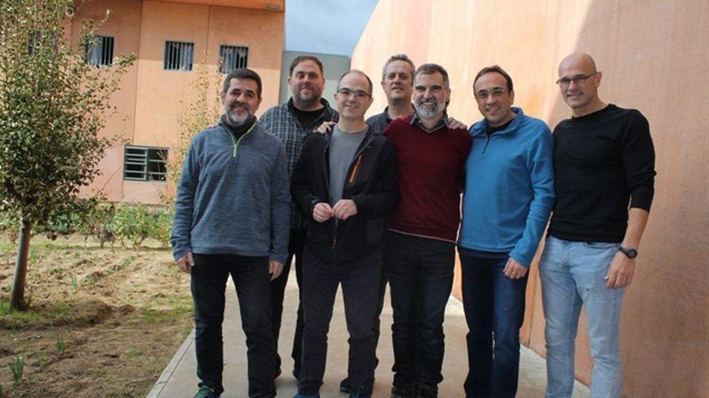 Los presos independentistas abandonan la huelga de hambre
