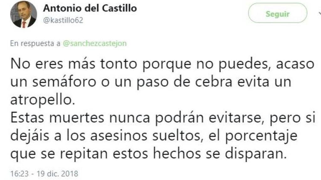 """Zasca del padre de Marta del Castillo a Pedro Sánchez: """"No eres más tonto porque no puedes"""""""