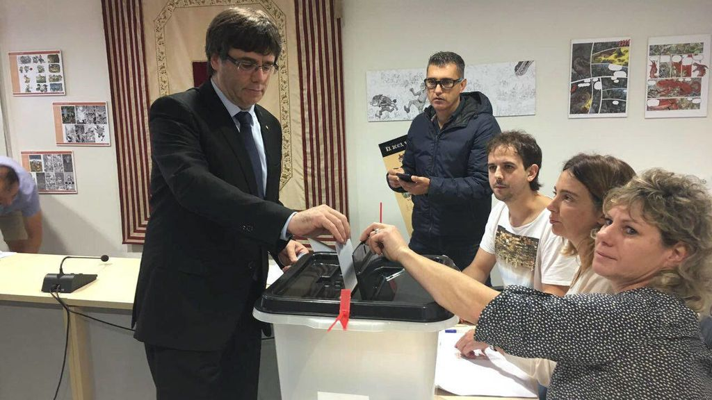 Puigdemont acusado por la Fiscalía del Tribunal de Cuentas de haber desviado más de ocho millones para el 1-O