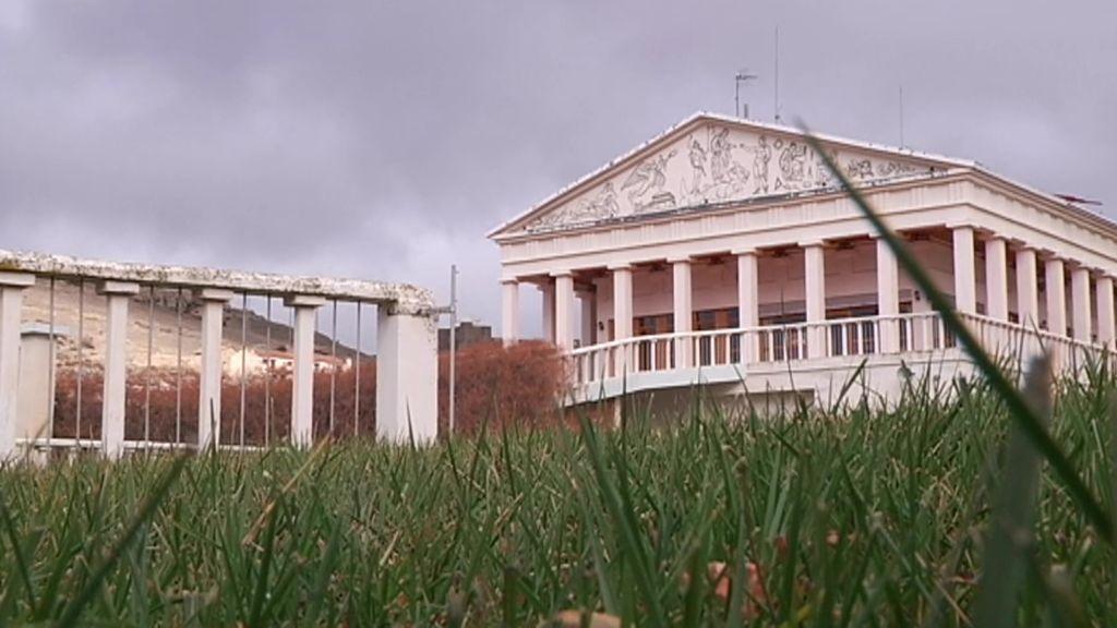 Ni museo, ni ermita: el 'Partenón' de Cedrillas (Teruel) es una casa particular