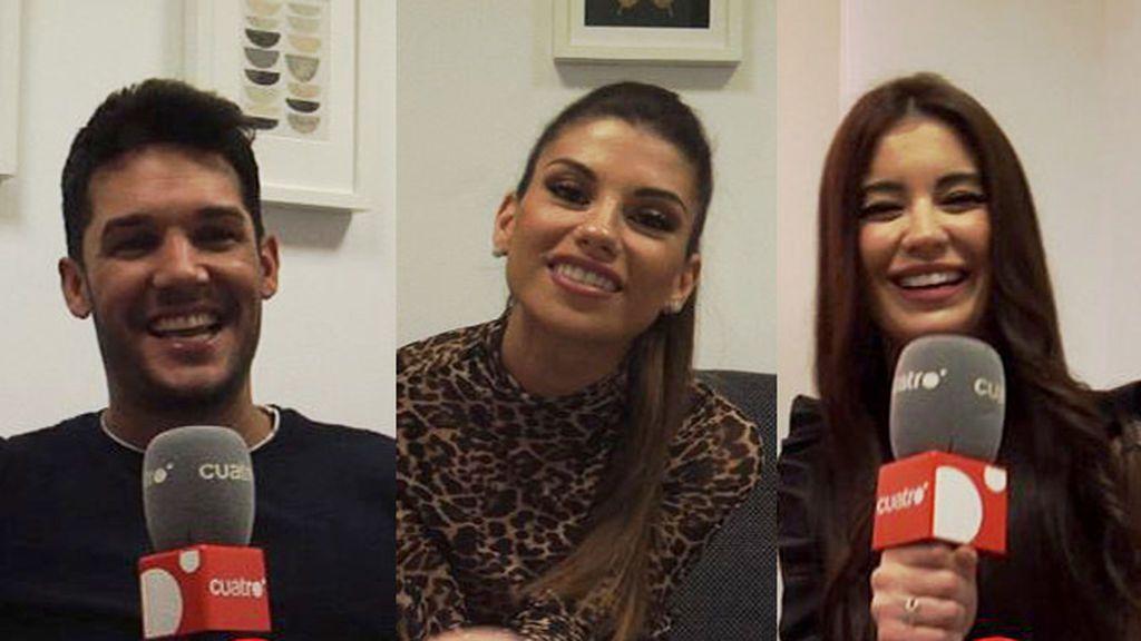 Los planes para estas Navidades de Noelia, Jenni y Santana