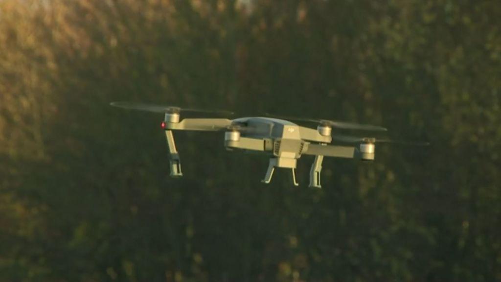 Volar un dron no es juego de niños