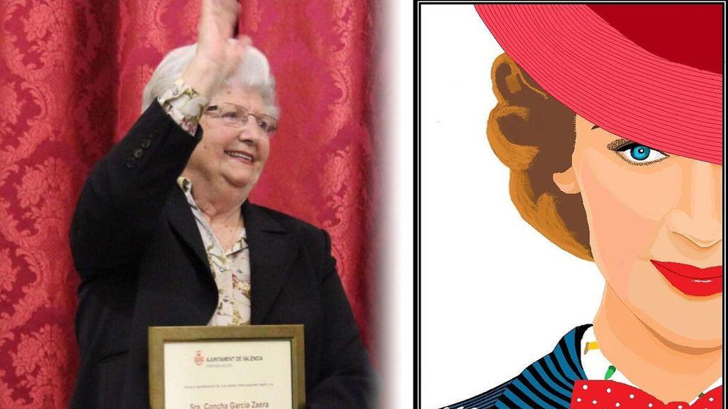 Concha, la abuela valenciana de 88 años experta en Paint que ha fichado por Disney