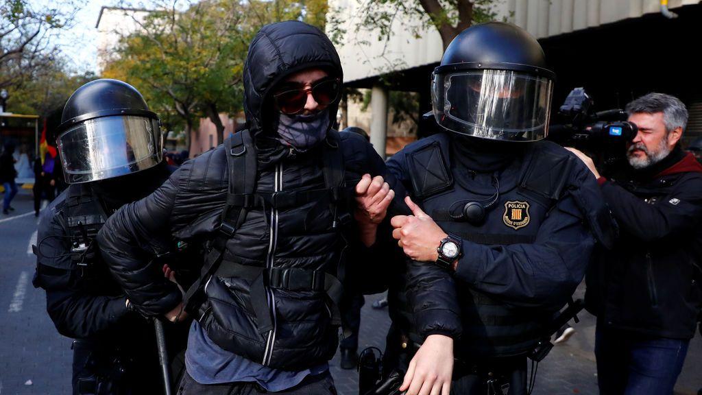 Siete detenidos en Barcelona en las protestas contra el Consejo de Ministros