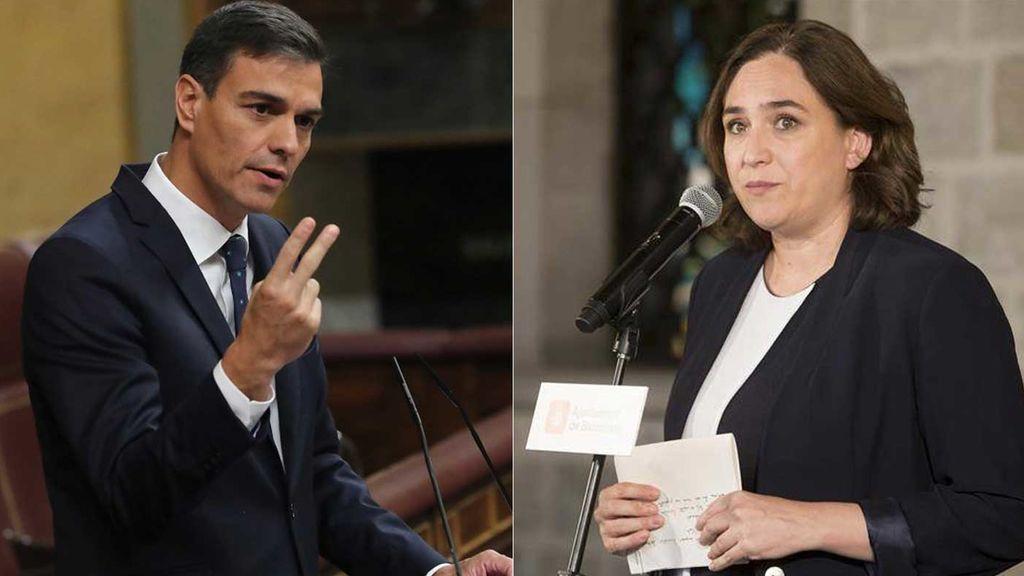 Sánchez y Colau se reúnen antes del Consejo de Ministros
