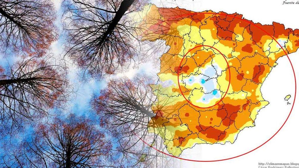 'Efecto donut': te explicamos el fenómeno que hace que solo haga más frío de lo normal en el centro