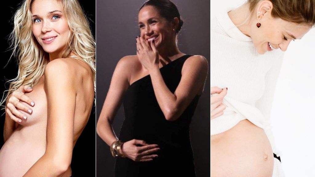 De Zanetti a Michelle Jenner: así posan las vips que serán madres en 2019