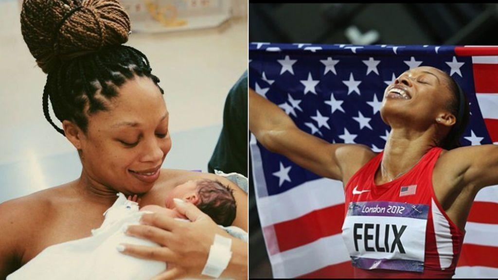 """La atleta Allyson Felix es madre tras ocultar su embarazo por """"miedo a arriesgar mi carrera deportiva"""""""