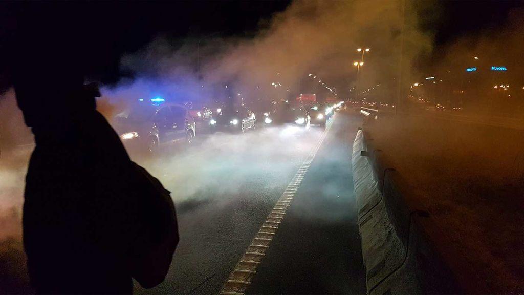 Consejo de Ministros: Primeros cortes de carreteras en Cataluña
