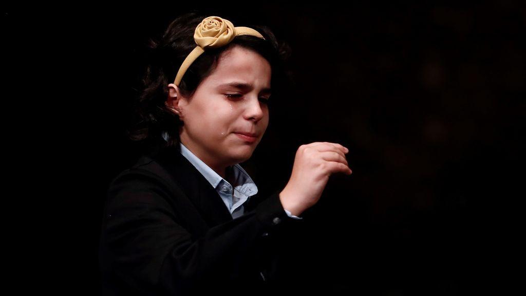 """Carla García, una de las niñas que cantó El Gordo: """"Espero que toque a gente que le van a embargar la casa"""""""