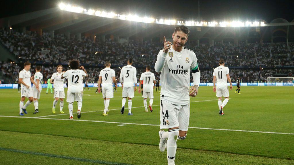 El Real Madrid se proclama campeón del mundo (4-1)
