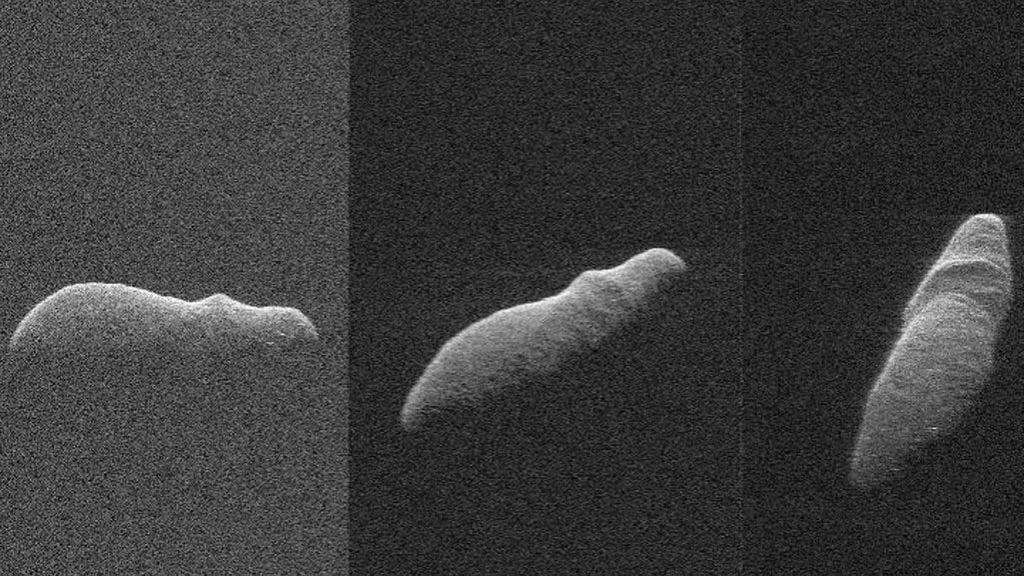 Un asteroide con forma de hipopótamo y se acerca a la Tierra