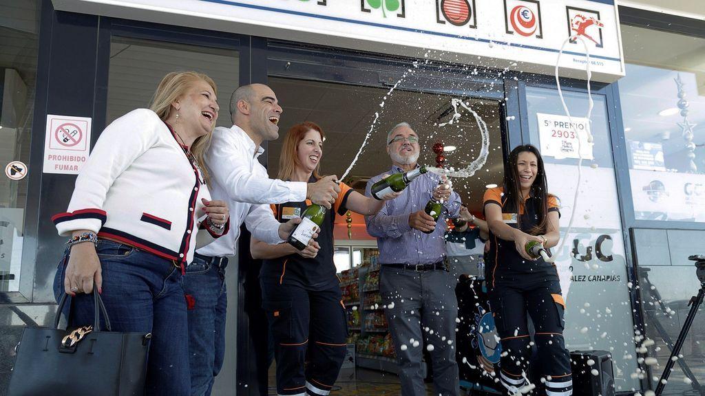 La gasolinera de la suerte está en Tenerife: vende el 'Gordo' y otros premios por sexto año consecutivo