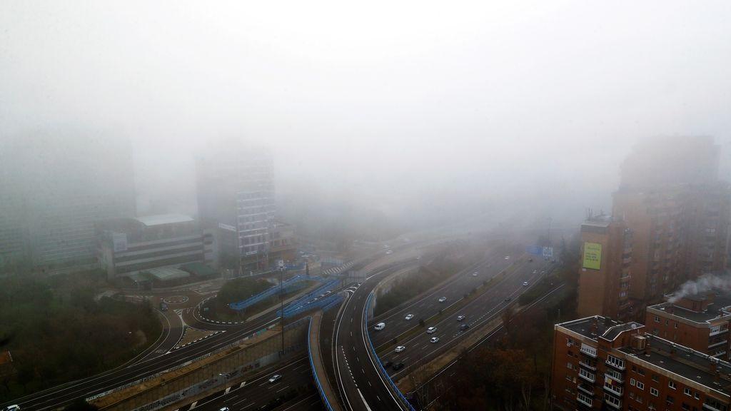 La niebla, presente el día de Nochebuena en 9 provincias