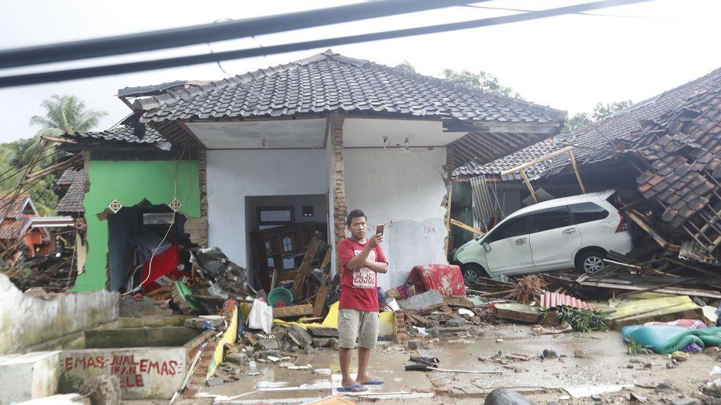 El tsunami en Indonesia, en imágenes