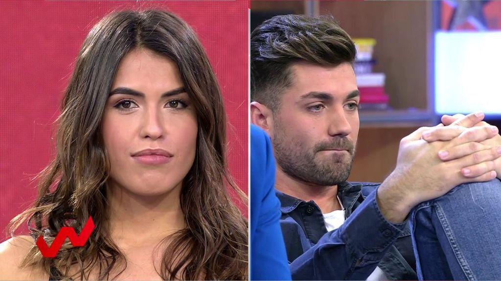 Sofía Suescun y Alejandro Albalá protagonizan un reencuentro cargado de tensión
